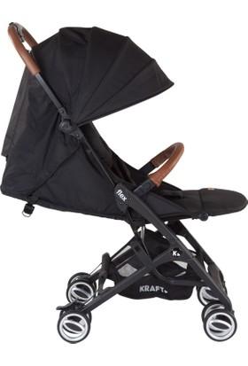 Kraft Flex Bebek Arabası - Siyah