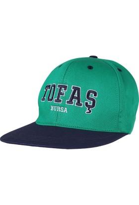 Tofaş Yeşil Şapka Hiphop Şapka