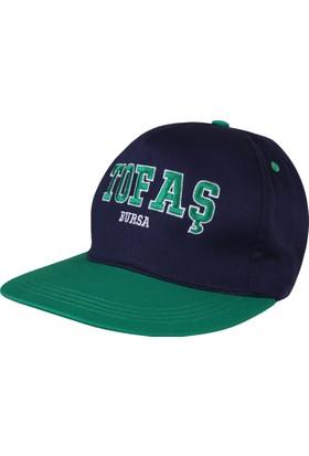 Tofaş Mavi Şapka Hiphop Şapka