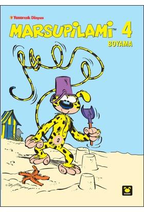 Marsupilami Boyama Kitabı 4