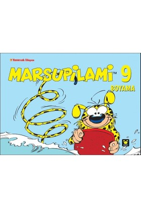 Marsupilami Boyama Kitabı 9