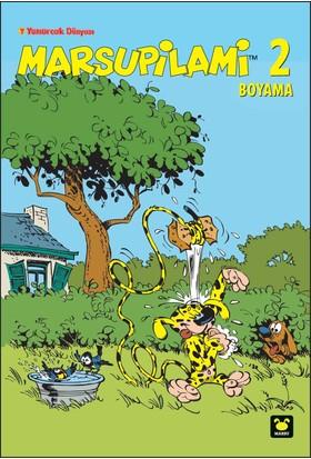 Marsupilami Boyama Kitabı 2