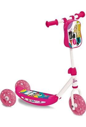 Barbie 3 Tekerli Çantalı Scooter