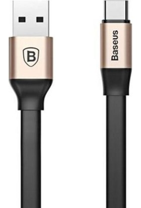 Baseus Nimble Portable Type - C Kablo 1.2 Metre Gold Catmbj A0V