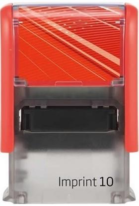 Trodat Trodat Imprınt-10 Kaşe-Kırmızı Gövde,Kırmızı Keçe