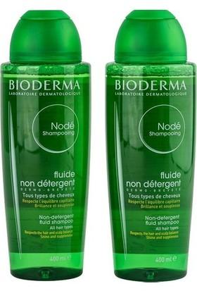 Bioderma Node Fluid Shampoo 2X400 Ml - Tüm Saç Tipleri İçin Sık Kullanıma Uygun Deterjan İçermeyen Akışkan Şampuan 1 Alana 1 Bedava
