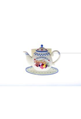 Kancaev Çaydanlık Peçetelik Mavi Friendship