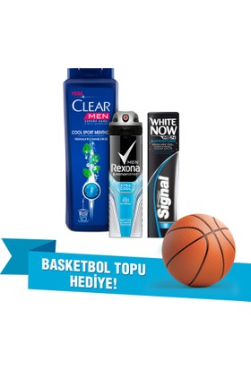 Clear Cool Sport Şampuan Bakım Paketi