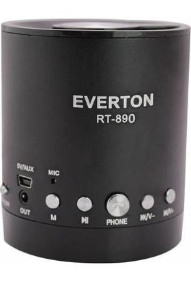 Everton RT-890BT USB-SD-FM-SW Bluetooth Radyo Müzik Kutusu - Siyah