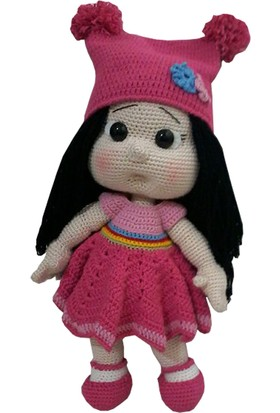 Knitting Toy El Örgüsü (Amigurumi) Sevimli Bebek