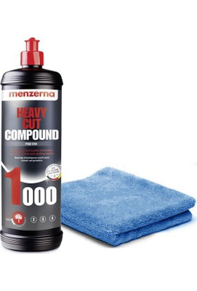 Menzerna Heavy Cut Compound 1000 1 Lt (Çizik Giderici Pasta)