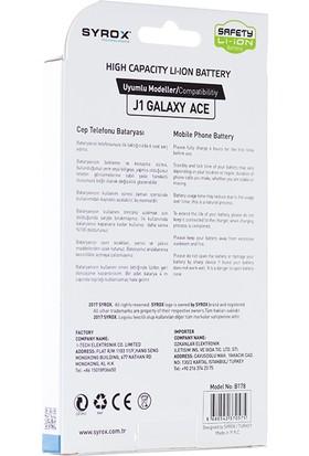 Syrox Samsung J1 Galaxy Ace Batarya Syx-B178
