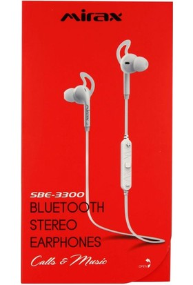 Mirax SBE-3300 Bluetooth Stereo Kulaklık - Siyah