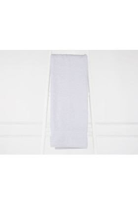 Madame Coco Bambu Havlu - Beyaz 90x150 cm