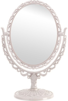 Madame Coco Çift Taraflı Masa Aynası - Açık Mürdüm