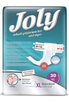 Joly Belbantlı Hasta Bezi 30 Adet Extra Large Ekstra Büyük