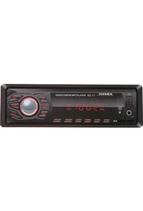 Teknika RC 11 USB SD MP3 FM 4x50W Oto Teyp