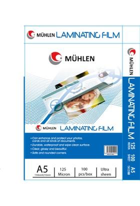 Mühlen A5 Laminasyon Filmi 125 Micron 1 Paket 100 Adet