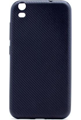 Kny Casper Via V5 Kılıf Karbon Desenli Silikon+Cam Ekran Koruyucu
