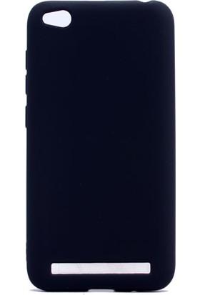 Kny Xiaomi Redmi 5A Kılıf Ultra İnce Mat Silikon+ Cam Ekran Koruyucu