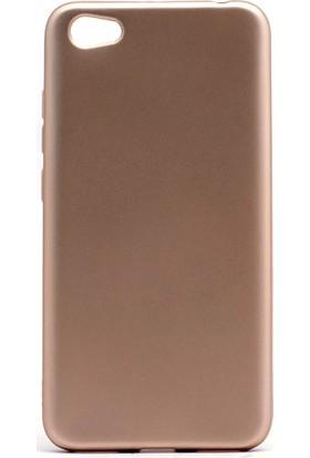 Kny Xiaomi Redmi Note 5A Kılıf Ultra İnce Mat Silikon+ Cam Ekran Koruyucu