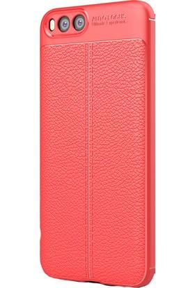 Kny Xiaomi Mi Note 3 Kılıf Deri Desenli Lux Niss Silikon+Cam Ekran Koruyucu