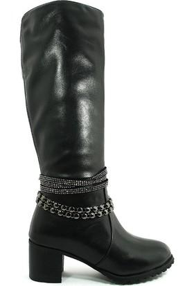 Guja Kadın Kışlık Uzun Çizme-Siyah-17k151-1-01
