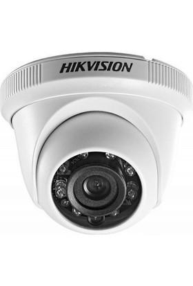 Haıkon DS-2CE56C0T-IRPF 1.0 MP TVI/AHD /CVI/CVBS Çalışabilme HD TVI 4 in 1 IR Dome Kamera