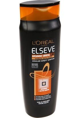 Elseve Arginine Direnç 3x Dökülme Karşıtı Şampuan 550 Ml