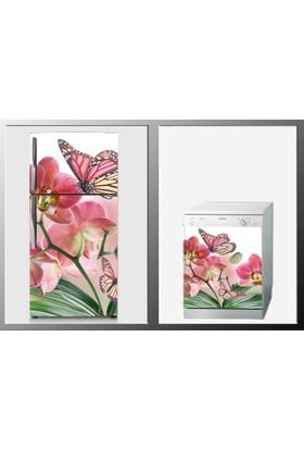 ArtWall Çiçek Beyaz Eşya Sticker