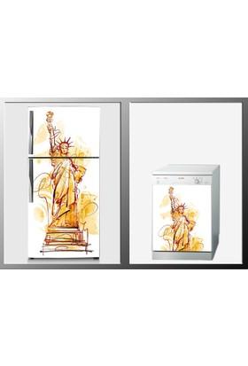 ArtWall İllustrasyon Beyaz Eşya Sticker