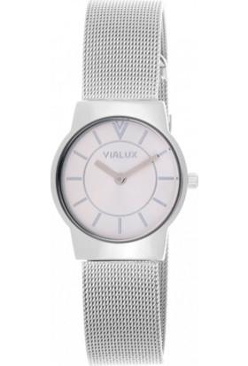 Vialux VJ634S-02SS Kadın Kol Saati