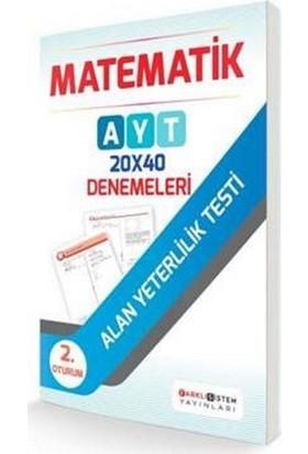 Farklı Sistem Ayt 2. Oturum Matematik 20X40 Denemeleri