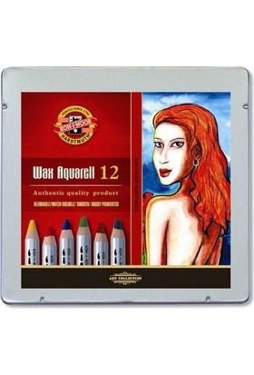 Koh-i Noor Wax Aquarell Sulandırılabilir Mum Boyası 12'li N:8282