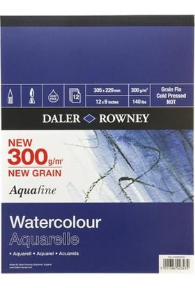 Daler Rowney Aquafine Sulu Boya Blok 305x228mm - 300gr.