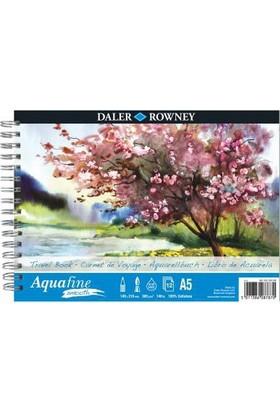 Daler Rowney Aquafine Smooth Sulu Boya Blok A5 - 300gr. - 12 Yaprak
