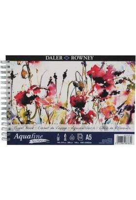Daler Rowney Aquafine Texture Sulu Boya Blok A5 - 300gr. - 12 Yaprak