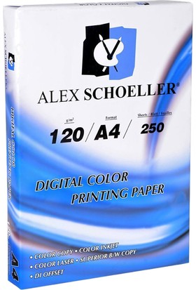 Alex Schoeller Fotokopi Kağıdı A4 120Gr. 250Yp.