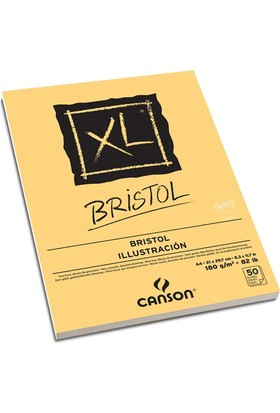 Canson XL Bristol A4 - 180gr. 50 Yaprak