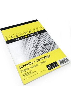 Daler Rowney Smooth - Cartridge Çizim Blok 130gr. - A5