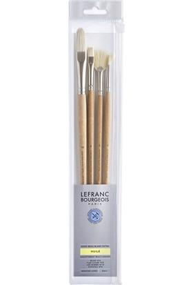 Lefranc Bourgeois 4'lü Fırça Seti N:810104