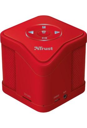 Trust 21703 MUZO Kablosuz Mini Bluetooth Hoparlör Kırmızı
