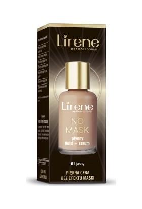 Lirene No Mask Plynny Fluid + Serum 01 Açık 30 Ml Fondöten