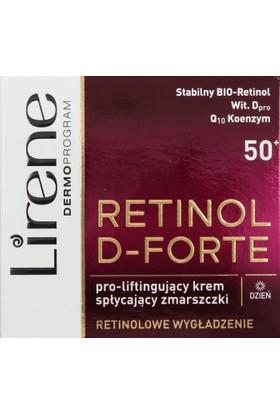 Lirene Retinol D-Forte 50+ 50 Ml Yoğun Yapılandırıcı Gündüz Kremi