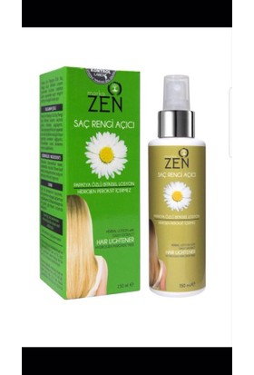 Zen Doğal Saç Açıcı Losyon 150Ml