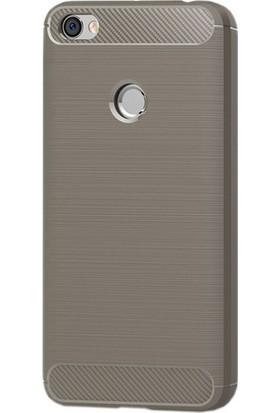 Sonmodashop Xiaomi Redmi Note 5A Kılıf Termoplastik Silikon + Cam Ekran Koruyucu