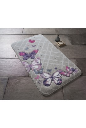 Confetti Butterfly Plaıd 50X57 Mor Oymalı