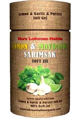 Lokmanhekim Limon Maydanoz Sarımsak Kapsül 60 Softjel