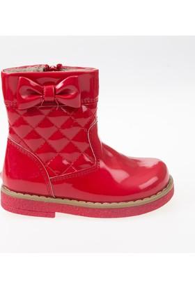 Soobe Kız Çocuk Bot Kırmızı