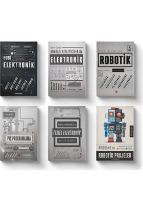 Robotik Ve Elektronik Eğitim Seti (6 Kitap) - Devrim Çamoğlu